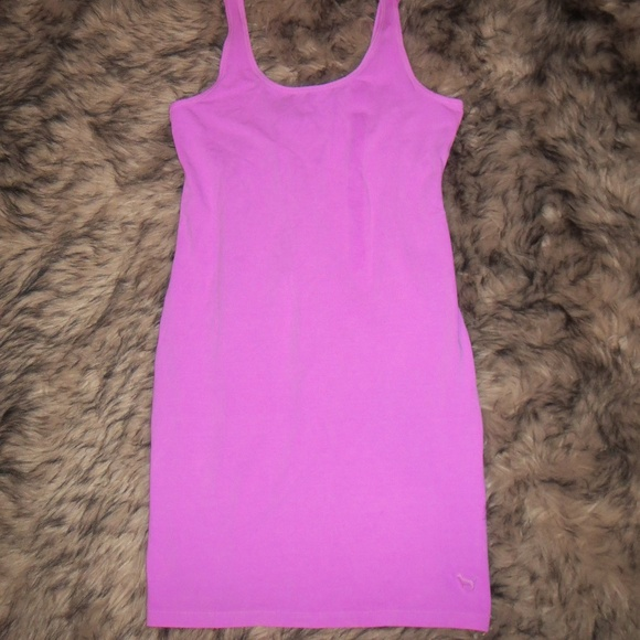 a71a2e43ae9 VS Pink Neon Purple Tank Dress. M 5aeacdee3b16086078964fdd